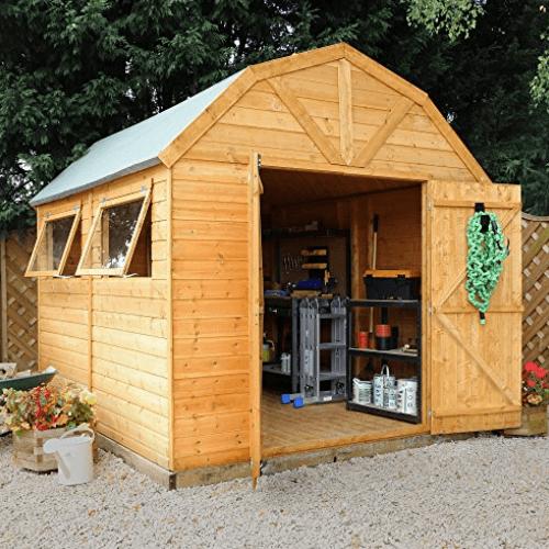 10 x 8 Green Planet Dutch Type Barn Shed