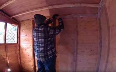 How To Insulate A Wooden Shed
