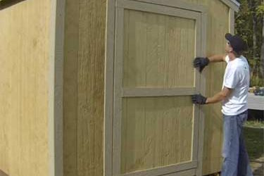 How To Build Wooden Shed Doors