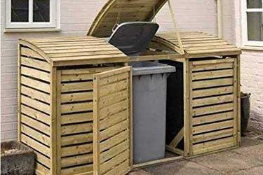 Best Triple Wheelie Bin Storage For Your Garden