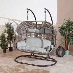 Rattan Egg Swing Chair