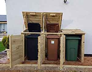 Best Wheelie Bin Storage For Your Garden