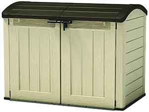 Wheelie Bin Storage for Two Bins Keter Ultra