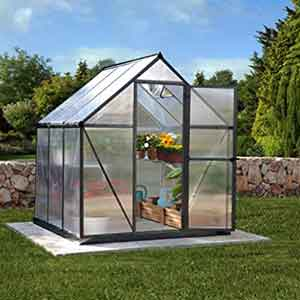 Polycarbonate greenhouses
