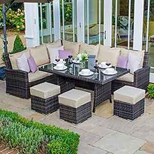 rattan Garden Dining Sets