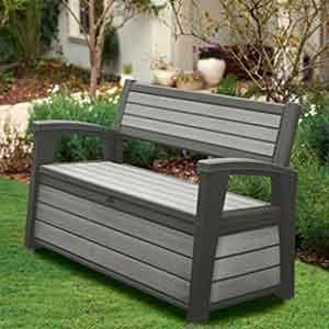 Garden Storage Benches