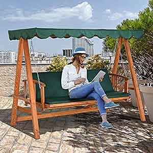 Wooden Garden Swing Seats