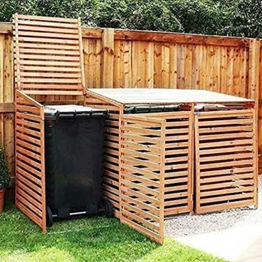 Best Wheelie Bin Storage For Your Garden