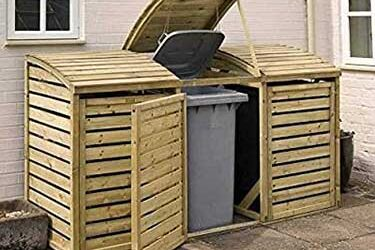 Best Outside Wheelie Bin Storage for 3 Bins